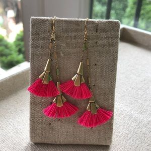 Stella & Dot Eden Tassel Earrings